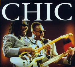Chic's  Nile and 'Nard in concert in 1996